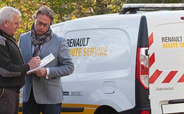 Renault Route Service in de regio Rijnmond